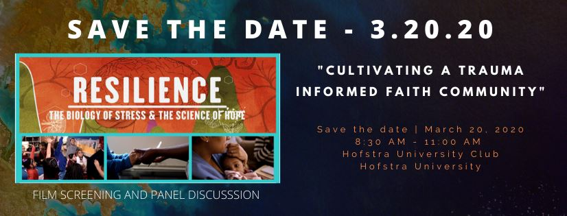 SAVE THE DATE - 3.20.20 Cultivating A Trauma Informed Faith Community